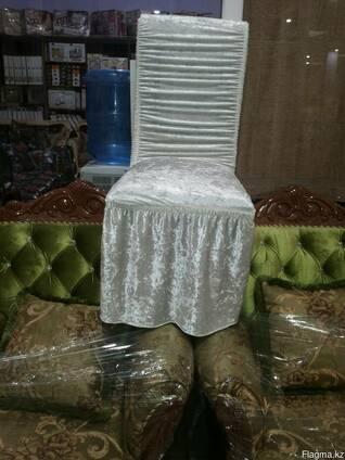 Чехол резинка на стулья велюр.