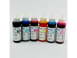 Чернила R270-E850 (BK C M Y LC LM) 100ml (InkBank) 6 цвет