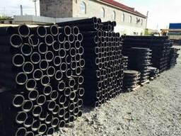 Чугунные трубы (ЧК) канализационные ГОСТ 6942-98 50мм L-2м