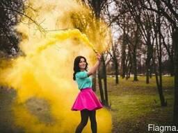 Цветной дым для фото/видеосъемки оптом и в розницу.