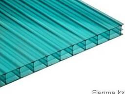 Цветной сотовый поликарбонат Woggel толщина 10 мм