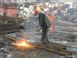 Демонтаж и монтаж металлоконструкций крыши навесы и т. д