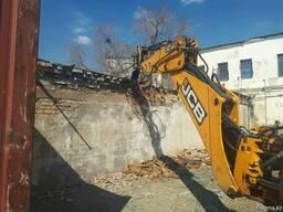 Демонтаж, разрушение, снос зданий, домов и прочих сооружений