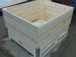 Деревянный контейнер для овощехранилищ