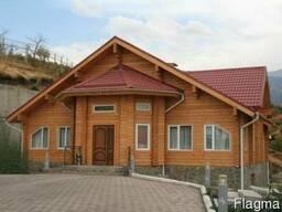 Деревянные дома из клееного бруса, финские дома
