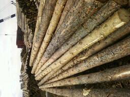 Деревянные опоры - фото 3