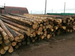 Деревянные опоры