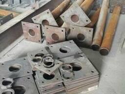 Детали закладные от завода производителя.Сварка ,рубка