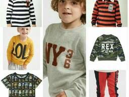 Детская сток(stock) одежда на вес английской марки.
