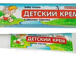 Детский Крем Шустрик с маслом персика