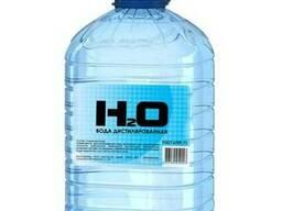 Дистиллированная вода ПЭТ тара 5 литров