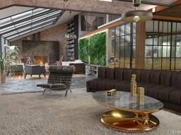 Дизайн интерьера. Современный стиль, лофт, эклектика.
