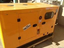 Дизельный генератор в тихом кожухе c АВР