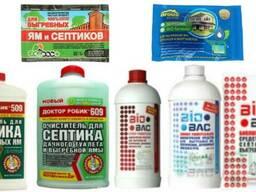 Для выгребных ям, септиков и туалетов- Доктор Робик, BIO BAC