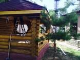 Дома, бани, беседки и другие строения из бревна. - фото 3