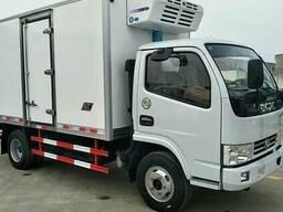 Dongfeng рефрижератор Вместимость 5-7 тонн Длина фургона 4, 2