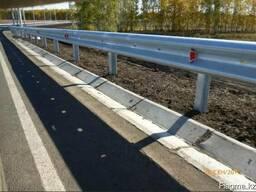 Дорожные металлические барьерные ограждения - фото 5