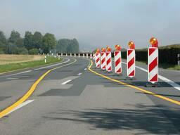 Дорожные знаки. Мобильные предупреждающие знаки. Прицепы - фото 7