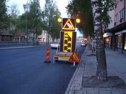 Дорожные знаки. Мобильные предупреждающие знаки. Прицепы - фото 8
