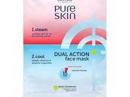 Двухшаговая маска-детокс для лица Pure Skin.