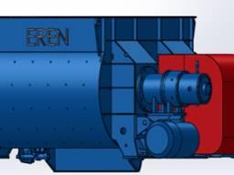 Двухвалковый бетоносмеситель BD-750/500 комплектующий на БСУ
