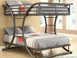 """Двухъярусная кровать""""Баттерфляй"""" рассрочка"""