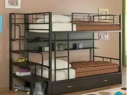 """Двухъярусная кровать """"Севилья""""с полочкой"""