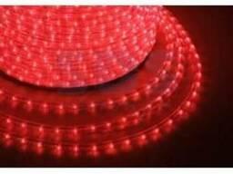 Дюралайт Led, постоянное свечение (2W) - красный, бухта 100м