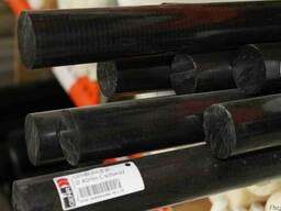 Экструзионный полиамид 6 стержень 40 мм (~1000 мм, ~1,6 кг)