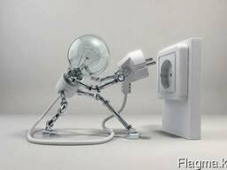 Электрик: штрабление-монтаж проводки, , замена выключателей - фото 1