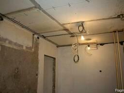 Электрик, установка осветительных приборов, проводки