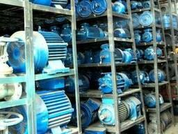 Электродвигатели 22 30 45 55 75 90 110 132 кВт с хранения