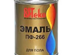 Эмаль ПФ-266 для пола жёлто-коричневая (банка 2. 6 кг)