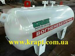 Емкость для газа, пропан - бутана, СУГ, газгольдер