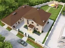 Эскизный проект дома и коттеджей в Астане (лицензия)