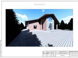 Эскизный проект, проектирование, проект дома, индивидуальный