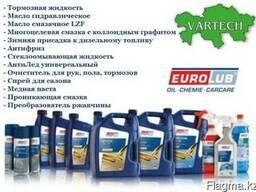 Eurolub гидравлическое масла, тормозная жид., cмазки, антифр