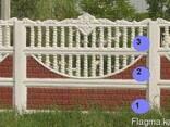 Евро-забор, декоративные бетонные ограждения, забор - фото 1