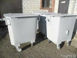 Евроконтейнер для ТБО 1,1м3, контейнеры для ТБО 0.75 - фото 5