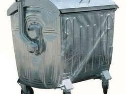 Евроконтейнер для ТБО 1,1м3, контейнеры для ТБО 0.75 - фото 2