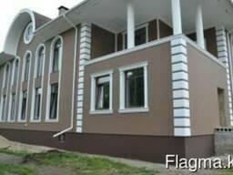 Фасады из пенополистирола