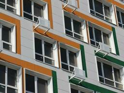Фиброцементные плиты Латонит Latonit Вентилируемые фасады