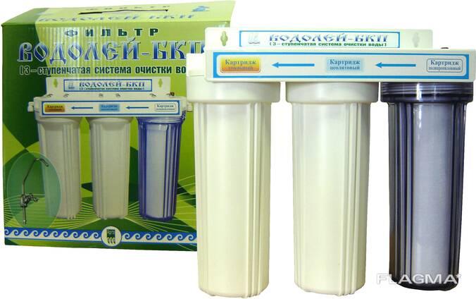 Фильтр для доочистки воды, под мойку