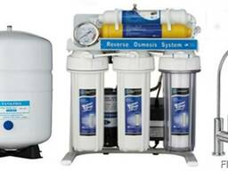 Фильтр для очистки воды обратного осмоса с насосом RO7