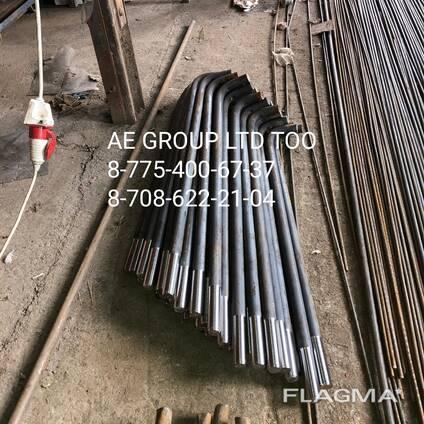 Фундаментные анкерные болты ГОСТ 24379.1-80 производство