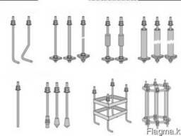 Производим металлоконструкций -блоки фундаментные любой тип.