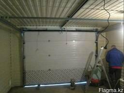 Гаражные секционные ворота DoorHan 2200 x 2500 с монтажом