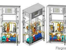 Газозаправочная Колонка с встроенным насосным агрегатом