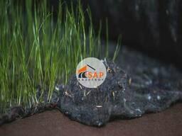 Геотекстиль с семенами трав