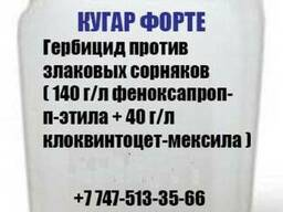 Гербицид против злаковых сорняков Кугар Форте (феноксапроп-п